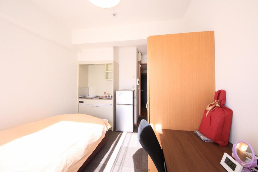 ほどよい広さのお部屋はご自宅のようにおくつろぎいただけます