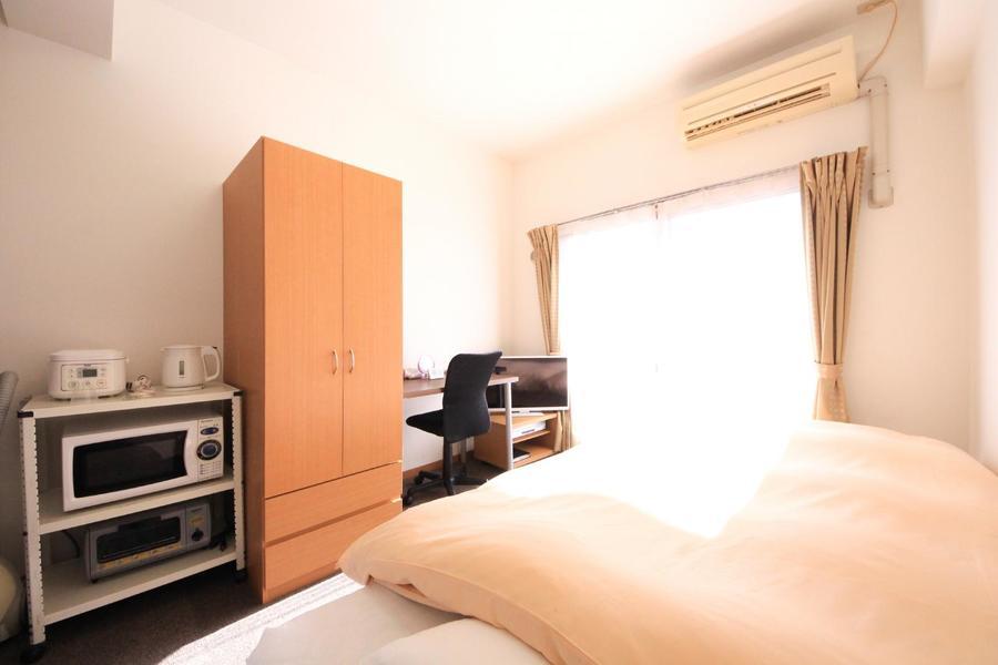 お部屋はコンパクトなワンルーム。価格もお手頃で住みよいお部屋です