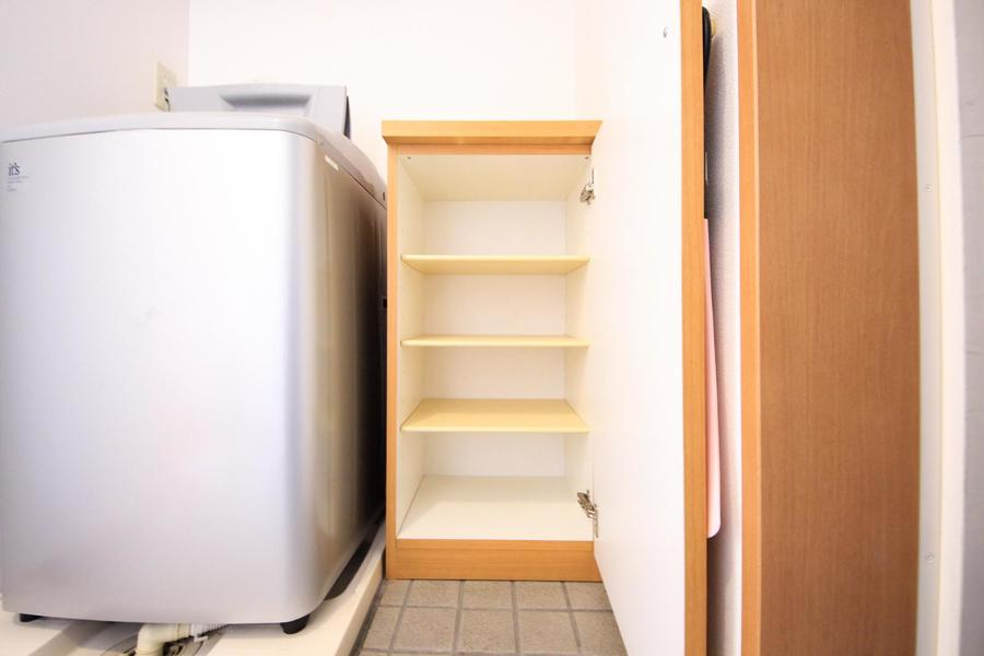 玄関にはシューズボックスつき。散らかる靴もスッキリ収納!