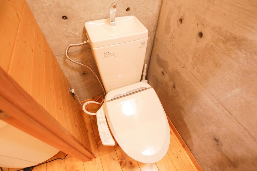 お手洗いはセパレートタイプ