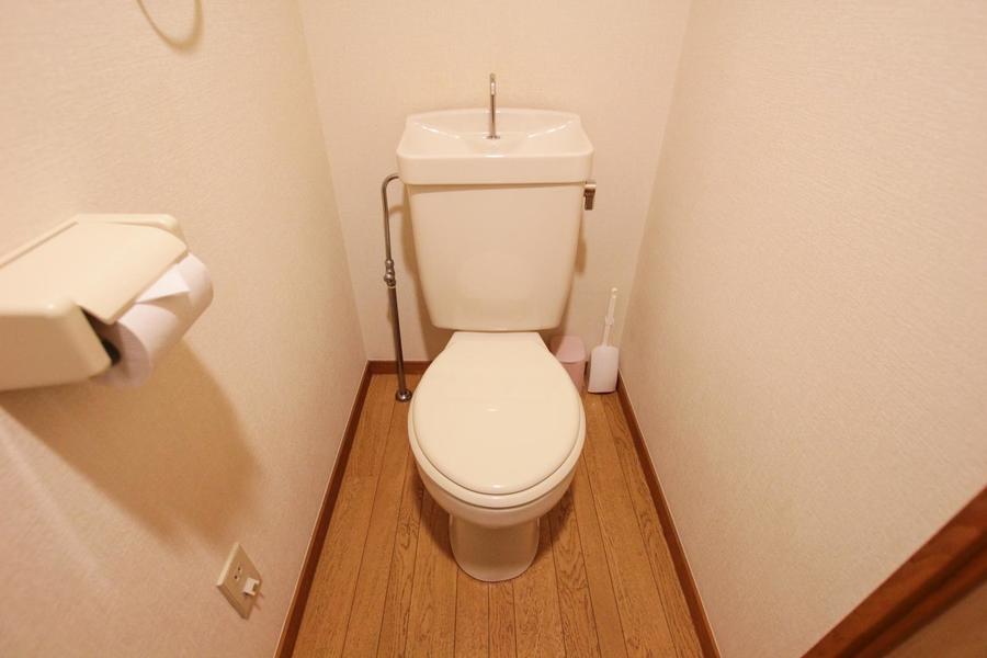 衛生面が気になるお手洗いもセパレートタイプで安心!