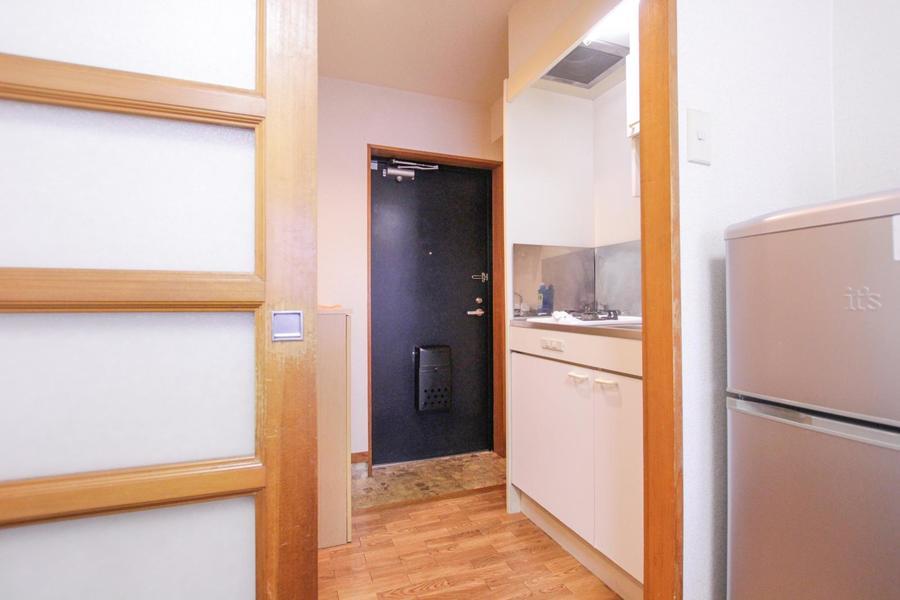 廊下もお部屋と同じくフローリングタイプ