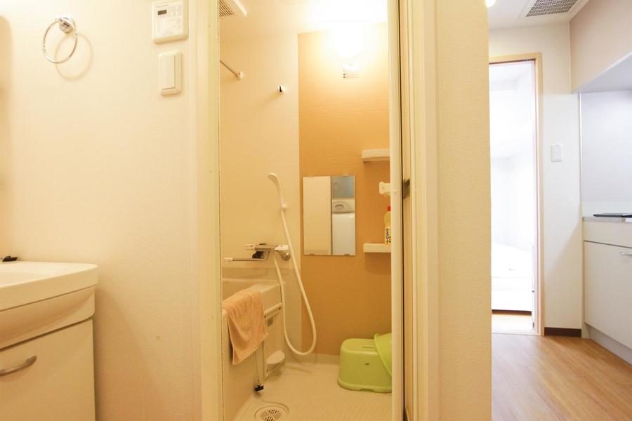 嬉しい浴室乾燥機能をご用意!急ぎの洗濯物が出ても安心です