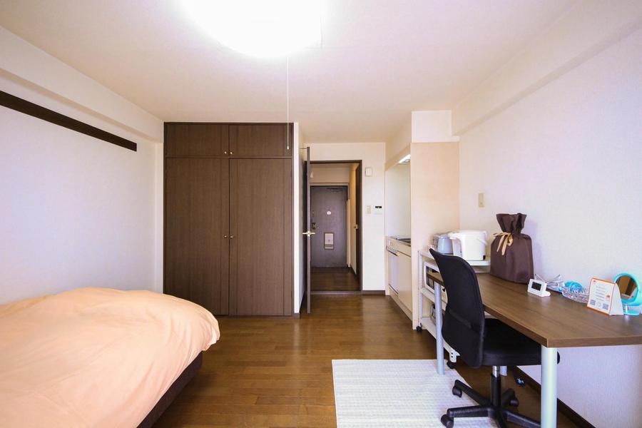 来客時や室温管理に仕切り扉が役に立ちます