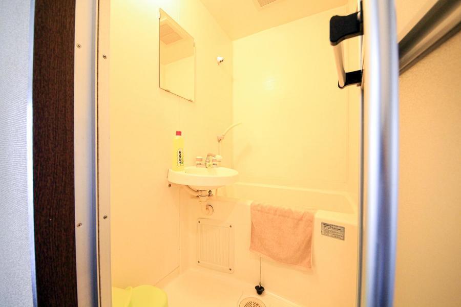 毎日使うお風呂は白を基調とした清潔感ある空間