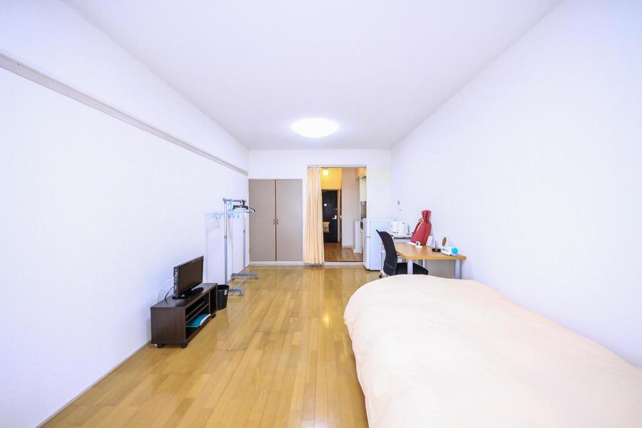 備え付けの家具・家電の他にオプション貸し出し品もご利用いただけます