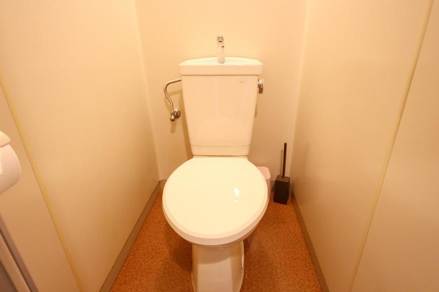 衛生面が気になるお手洗いもセパレート式で安心!