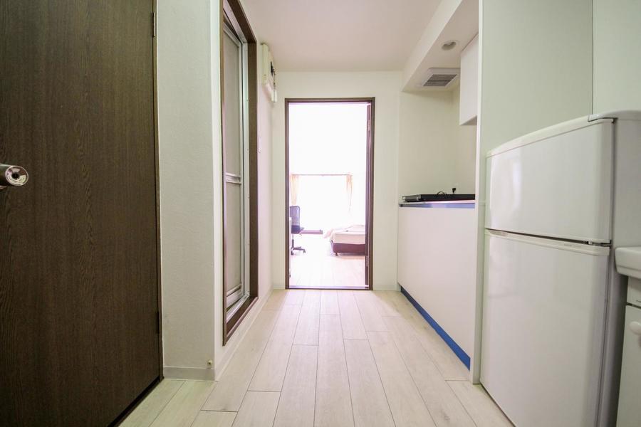 廊下と部屋の間の扉はプライバシー確保・室温管理に!
