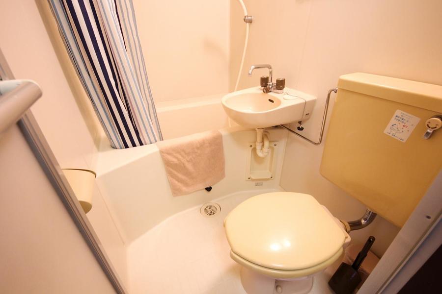 トイレなどの水回りは使いやすく一箇所にまとめられています