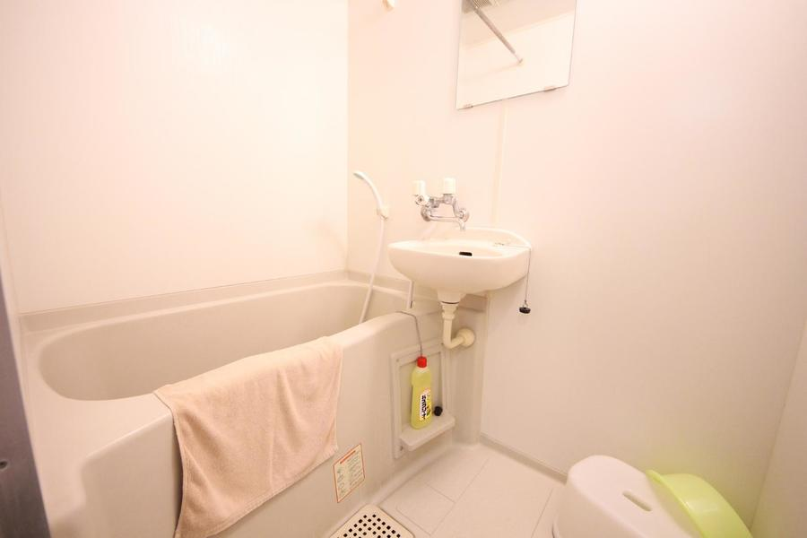 毎日の疲れを癒すバスルーム。嬉しい浴室乾燥機能搭載です