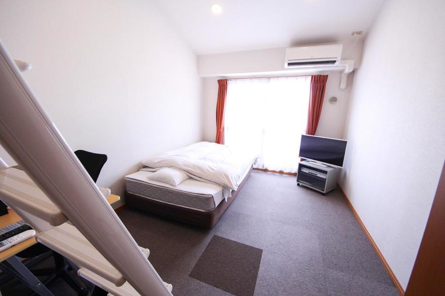 お部屋部分も広く、楽器などの大型荷物も持ち込み可能です