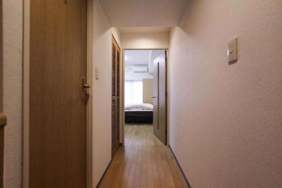 お部屋から玄関までは段差のないつくりでつまづく不安もありません