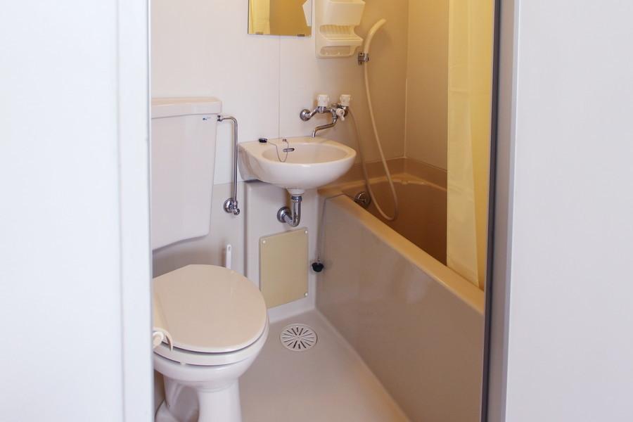 お風呂やトイレは使いやすいオールインワン