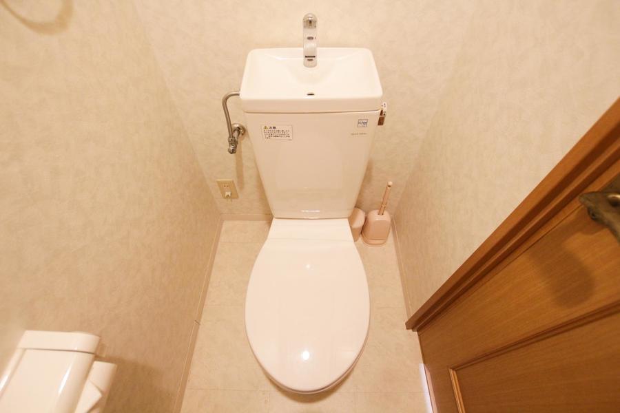お手洗いは人気のセパレートタイプです