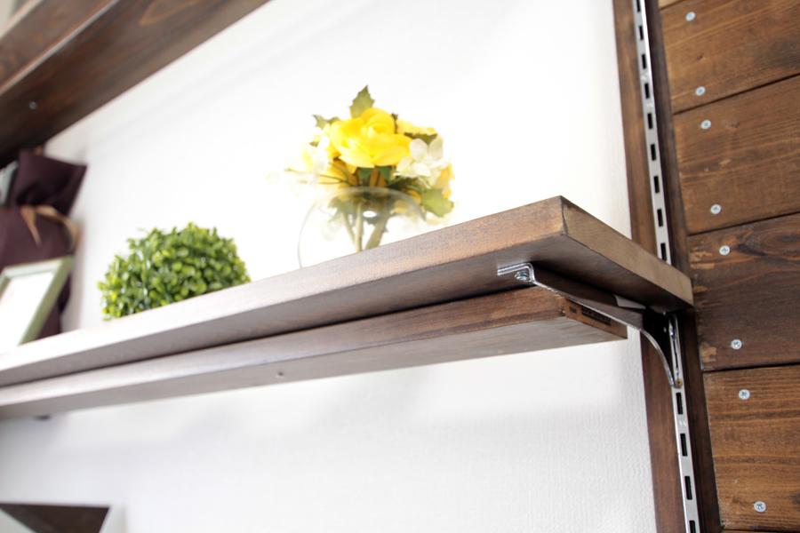 可動棚は自在棚のため、お好みの高さにご調整ください