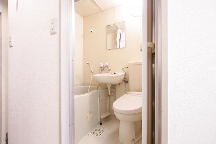 お風呂など水回りは使いやすく1箇所に
