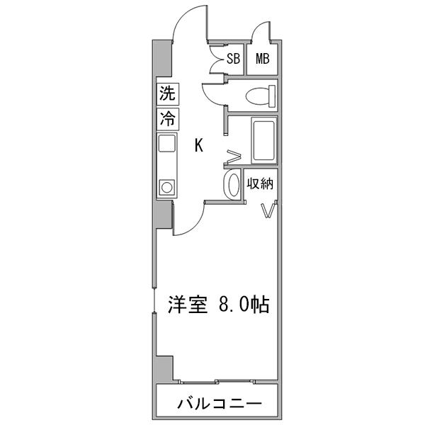 クラステイ豊田市駅4-1の間取り