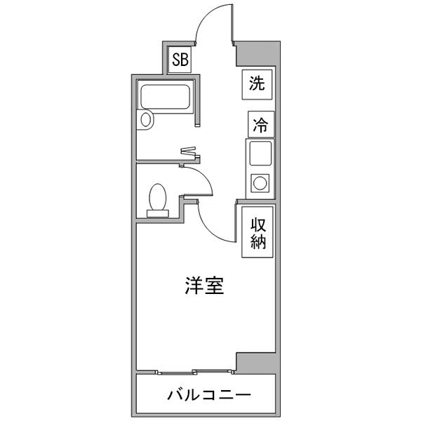 【ポッキリ割】クラシエ三河豊田駅前-1の間取り