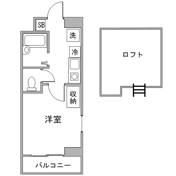 【チョウキ割】クラシエ三河豊田駅前-2の間取り