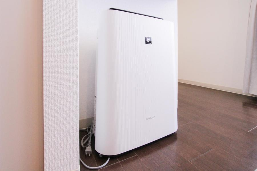 クラステイプラスシリーズには空気清浄機が設置されています
