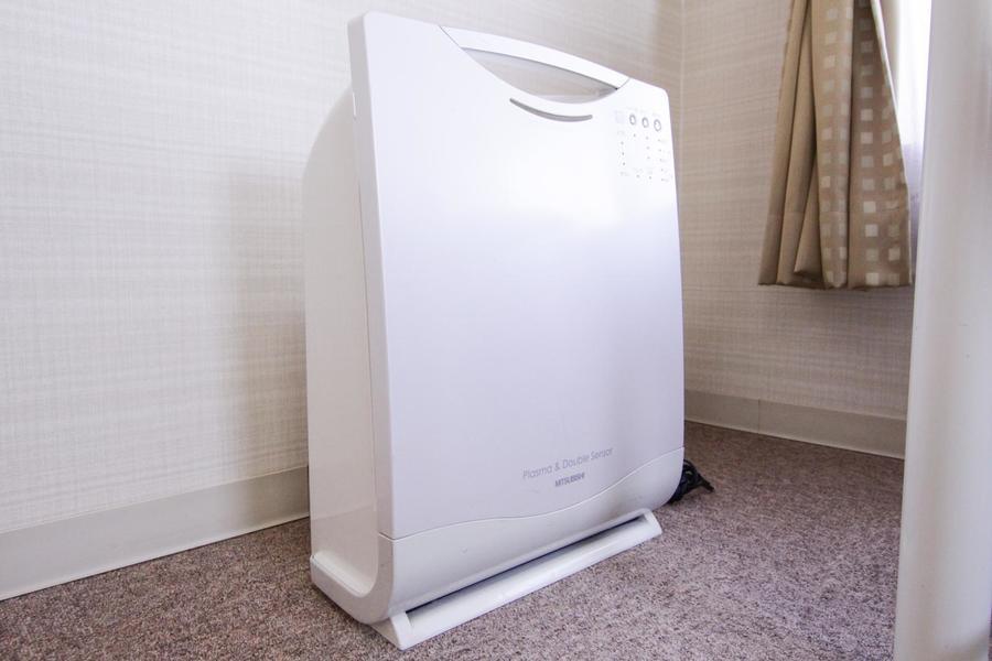 クラステイプラスシリーズでは空気清浄機を標準装備。より過ごしやすいお部屋に