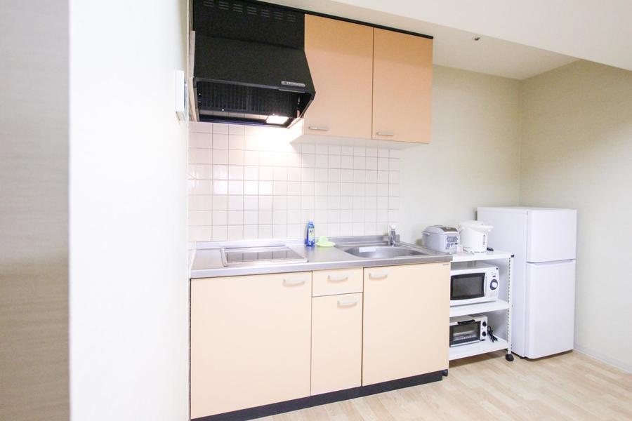 自炊派の方にも嬉しいキッチン。まな板を置くスペースもバッチリ!