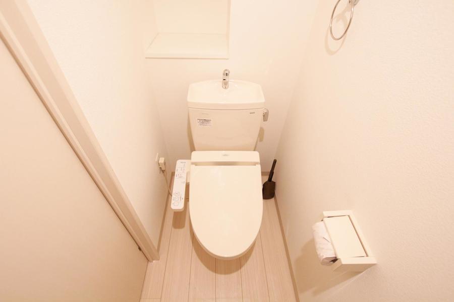 衛生面が気になるトイレもバス・トイレ別で安心です