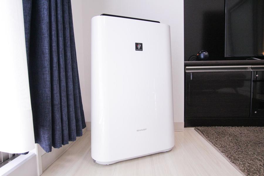 オプション貸し出し品として人気の空気清浄機も設置されています