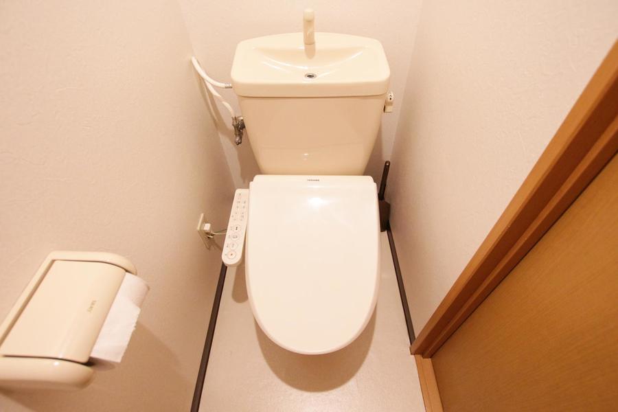 バス・トイレセパレート式で衛生面も安心
