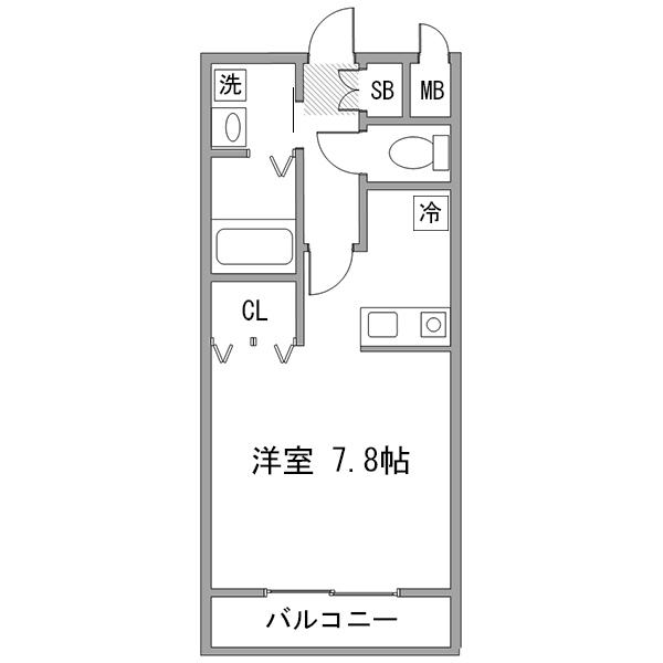 クラステイ名古屋駅4-2の間取り