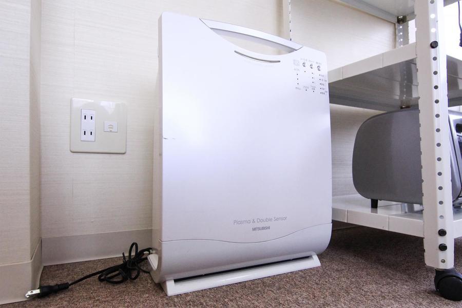 オプション貸出品として人気の空気清浄機をご用意