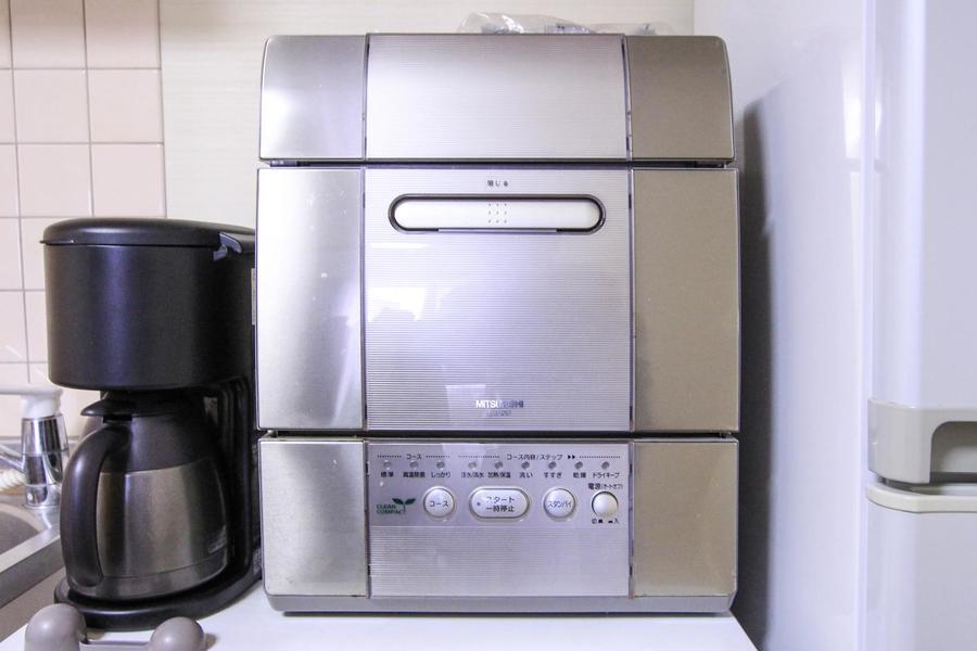 マンスリー物件では珍しい食器洗い乾燥機もご用意しています!