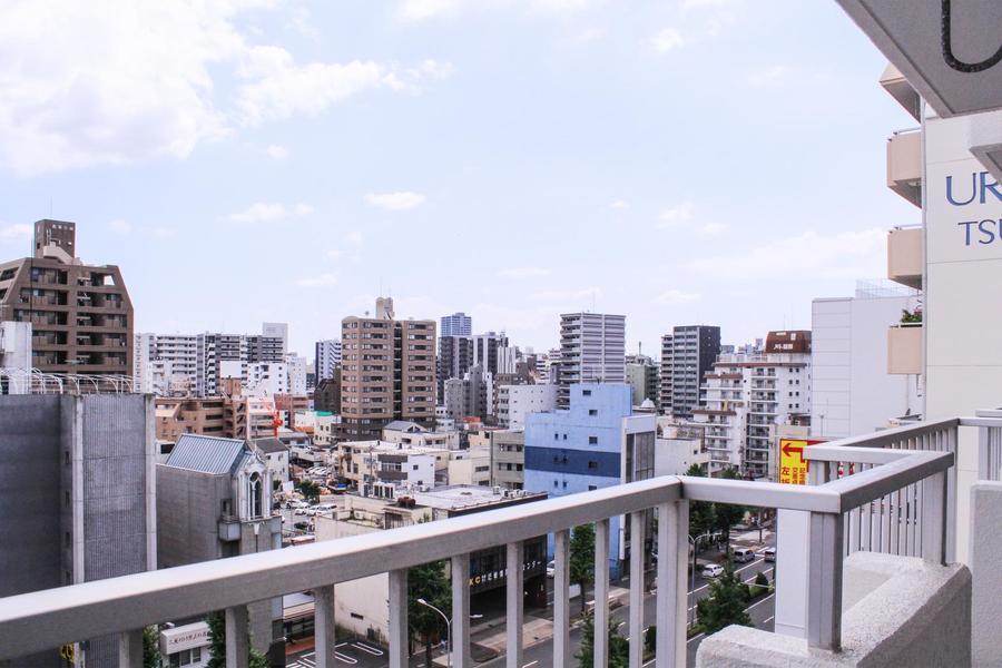 高層階のお部屋なので眺望もばっちり。名古屋の街を一望できます