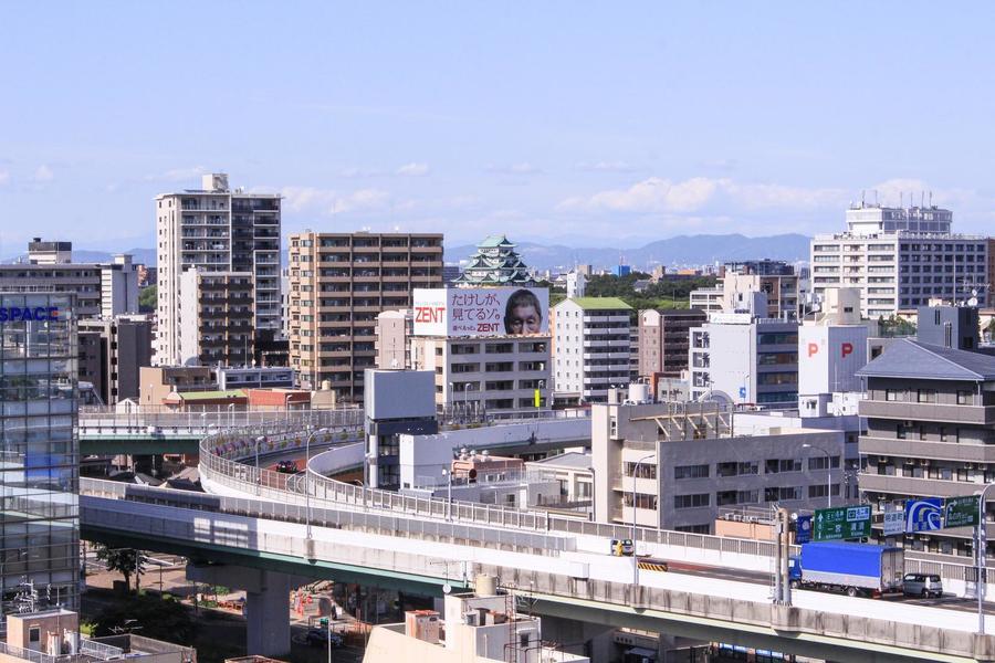 高層階のお部屋は眺望も抜群! お部屋によっては名古屋城も一望できます