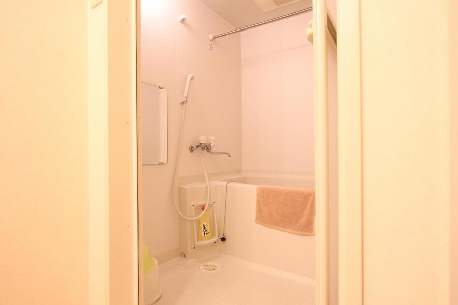 お風呂は急な洗濯物にも対応できる浴室乾燥機能つき
