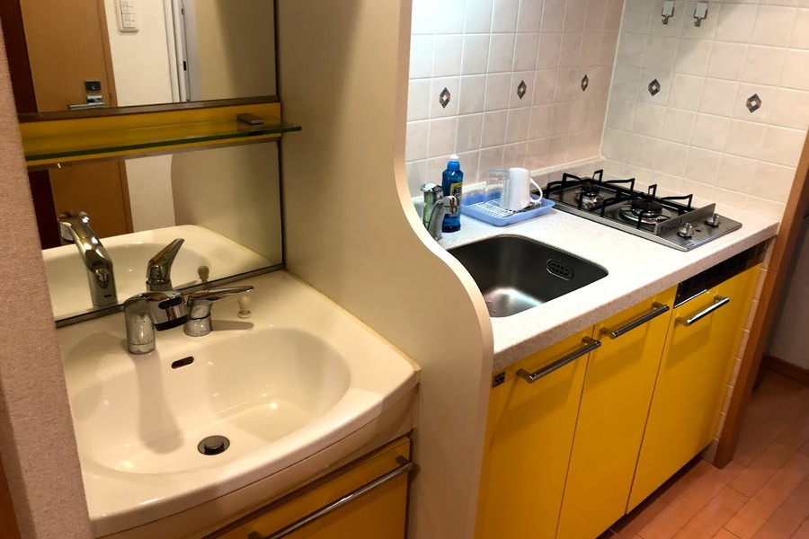 洗面台は人気のシャンプードレッサータイプ