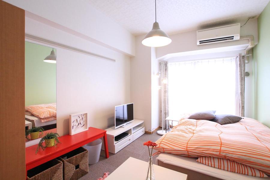 ご自宅のようにくつろげるお部屋をテーマにインテリアを一新しました!