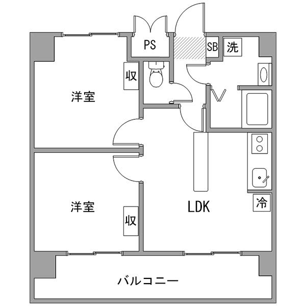 【カケコミ割】クラシエ豊田市駅-2の間取り