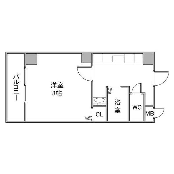 クラステイ豊田市駅4-2の間取り