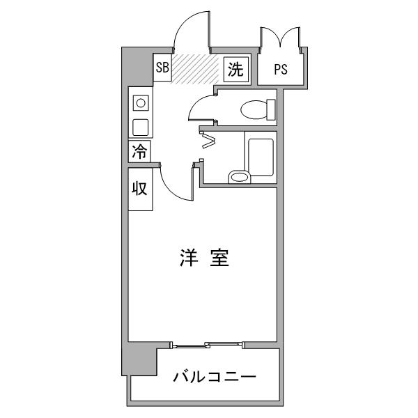 【30室限定ポッキリ割】クラシエ三河豊田2-2の間取り