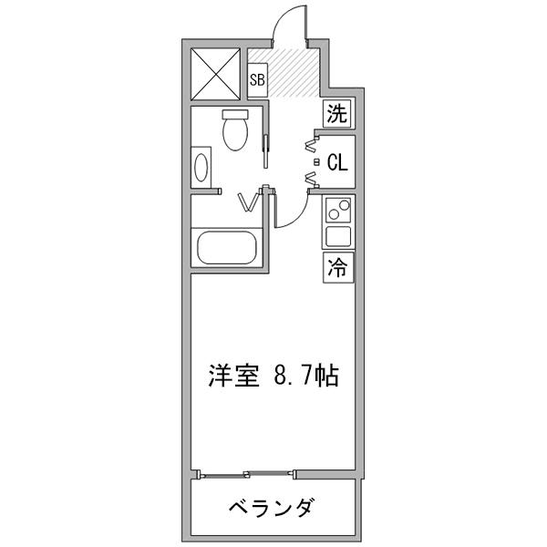 【タンキ割】クラステイ名古屋城西-3の間取り