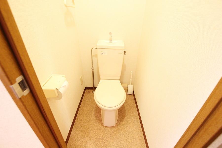 衛生面が気になるトイレもセパレートなら安心です