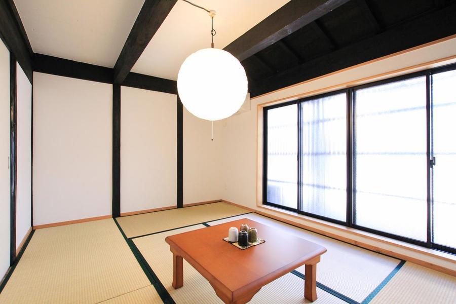 足を伸ばしてくつろげる和室は日本はもちろん海外のお客様にもご好評です