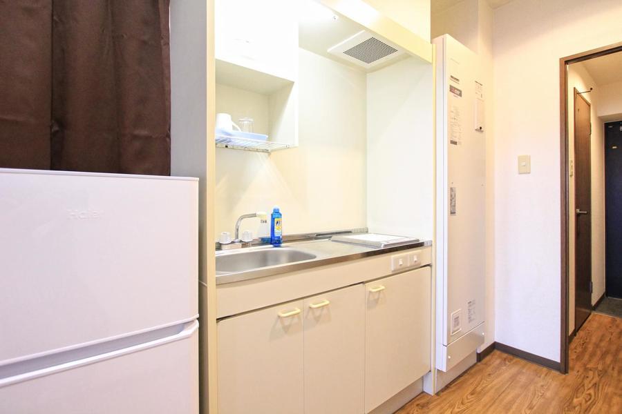 キッチンは3.2帖のゆとりある広さ。使いやすさ抜群です