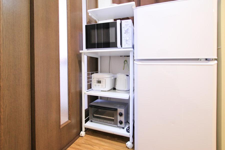 家電類はわかりやすく一箇所に集約することで便利さアップ