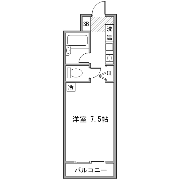 ルーレント豊田市駅4の間取り