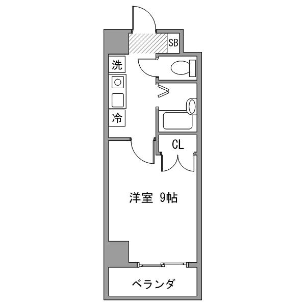 【30室限定ポッキリ割】クラシエ東岡崎-1の間取り