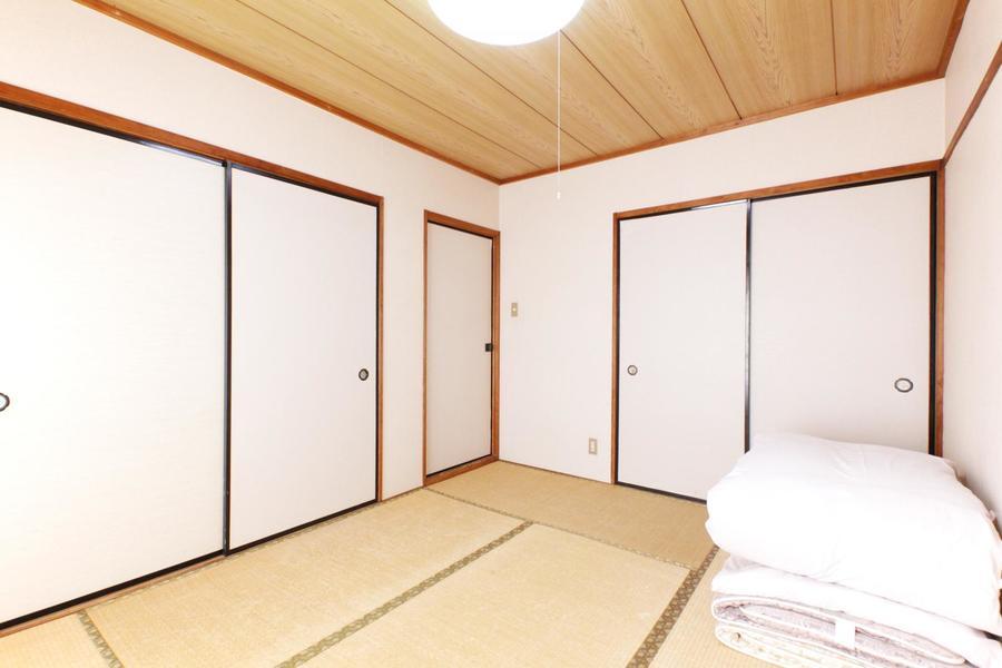 和の心を感じる畳敷きの和室。日本はもちろん外国のお客様にも人気です
