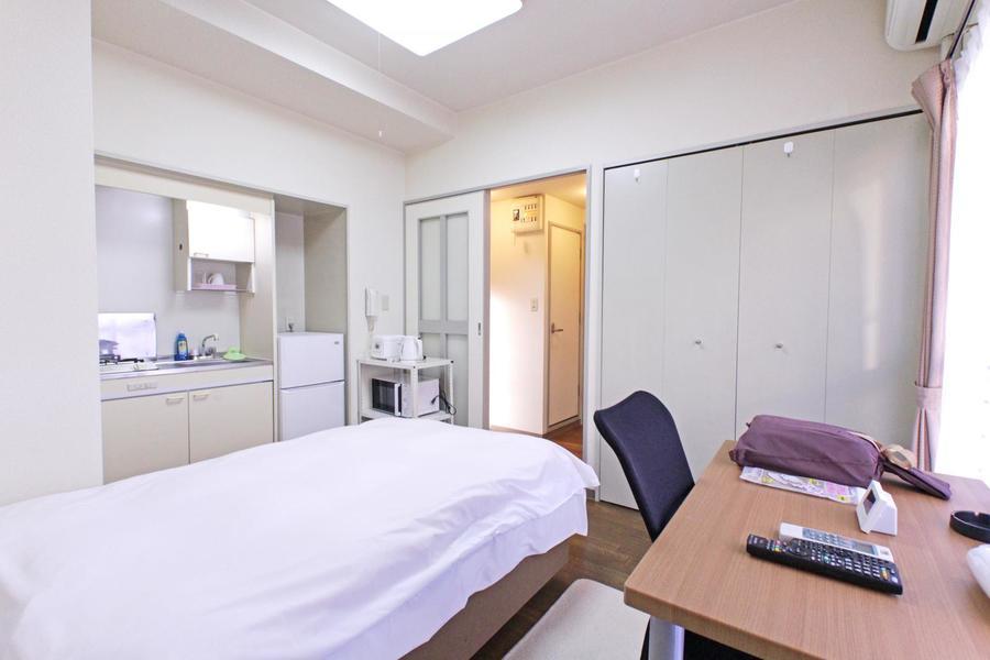 シンプルで過ごしやすいワンルームタイプのお部屋です