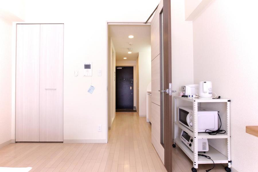 仕切り扉は室温管理、プライバシー配慮などにお役立てください